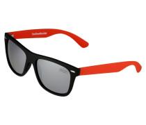 REBEL - Sonnenbrille - black/hazard orange