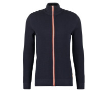 ERIK Strickjacke navy/orange