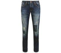 ROCCO RED SELVAGE Jeans Straight Leg blue