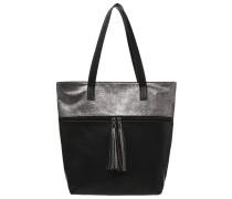 Handtasche black/bronze