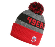 NFL SAN FRANCISCO 49RS Mütze red/black