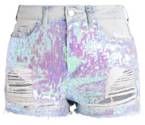 MOM - Jeans Shorts - middenim