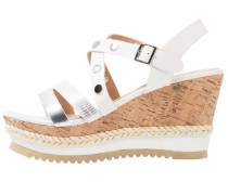 BENJOIN High Heel Sandaletten blanc