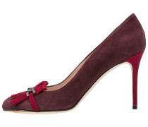 High Heel Pumps bordo/lipstick
