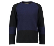 VLADIMIR Strickpullover black/blue