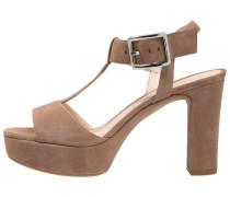 VERNER High Heel Sandaletten tanin