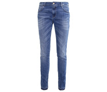 KATEWIN Jeans Straight Leg darkblue denim