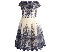 KELSEY Cocktailkleid / festliches Kleid cream/navy