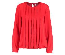 Bluse - lipstick red