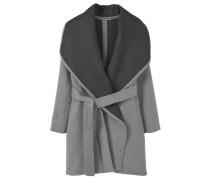 TWIGY Wollmantel / klassischer Mantel medium heather grey