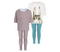 2 PACK Pyjama teal