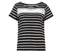 PUCE - T-Shirt print - noir/blanc