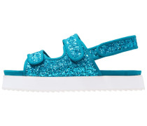 DAMARA - Plateausandalette - blue glitter