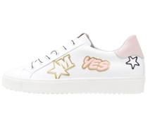 Sneaker low agnelotto/bianco