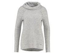 Strickpullover light grey