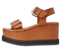 ROCA - Plateausandalette - brown