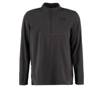 GECKO Fleecepullover dark steel