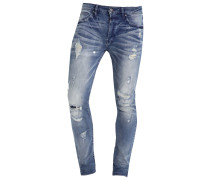 MORTEN Jeans Slim Fit light blue ripped