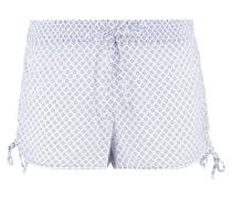 Nachtwäsche Hose - light blue/white