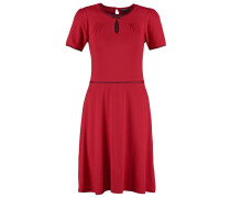 VINTAGE CHARME Jerseykleid red