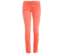 AMELIE - Jeans Bootcut - koralle
