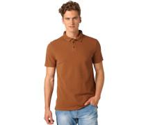 REGULAR FIT Poloshirt rich cinnamon