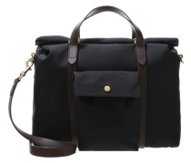 SOFT WORK Shopping Bag navy/dark brown