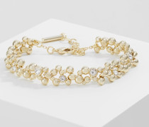 EVOLUTION - Armband - light gold-coloured/crystal