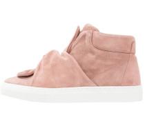 Sneaker high - dusty pink