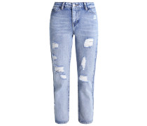 Jeans Straight Leg light blue denim