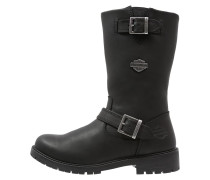 RANDY Cowboy/ Bikerboot black