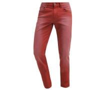 Jeans Straight Leg rouille