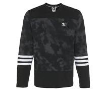 CRYSTAL HOCKEY Langarmshirt black/solid grey