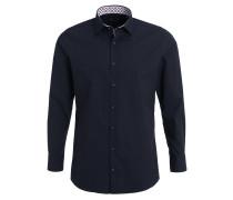 SLIM FIT Hemd schwarz