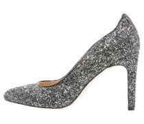 High Heel Pumps black glitter
