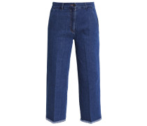 MELANIE Jeans Straight Leg blue raw