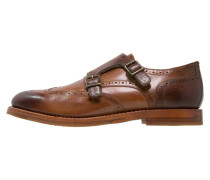 CROCKET Slipper cognac
