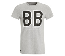 LIAM TShirt print light grey melange