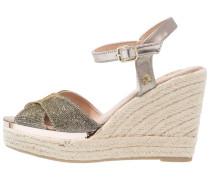 High Heel Peeptoe - bronze