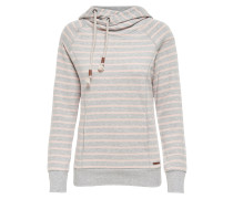 Kapuzenpullover light grey melange