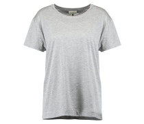 MIONAS - T-Shirt basic - medium grey melange