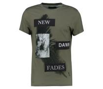 NEW DAWN FADES - T-Shirt print - modern khaki