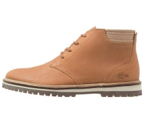 MONTBARD Schnürstiefelette light brown