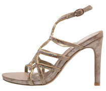High Heel Sandaletten bronze