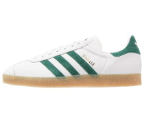GAZELLE - Sneaker low - vintage white/collegiate green