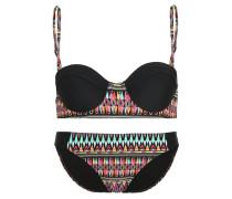 Bikini black/multicolor