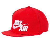 AIR TRUE Cap university red/white