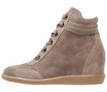 4871 Sneaker high taupe/ardesia
