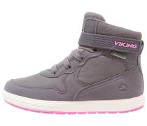 VIGRA Snowboot / Winterstiefel dark grey/pink