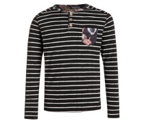 WILDOR Langarmshirt black